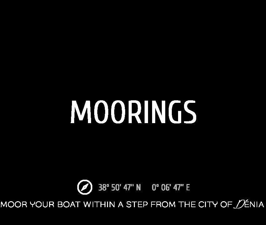 Moorings Marina el Portet Denia