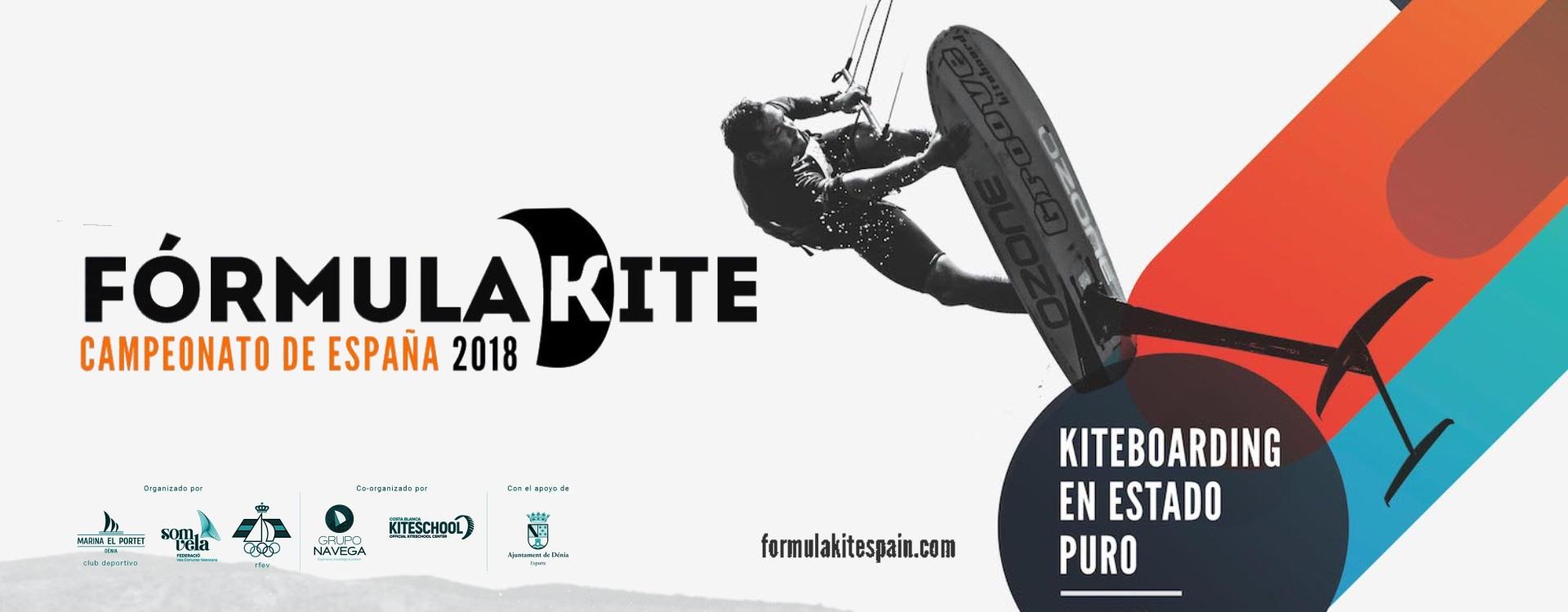 Formula Kite Spain Series 2018 Perfect Pixel Publicidad Marina el Portet Denia
