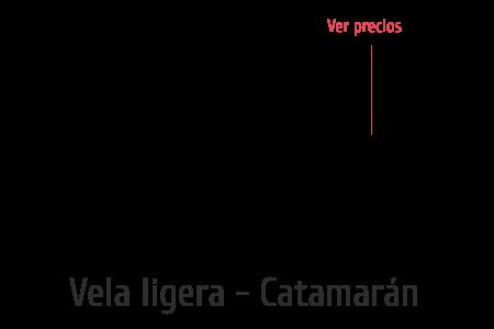 Vela ligera - Catamarán