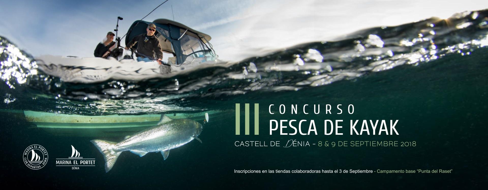 Joaquin Molpeceres III concurso de pesca de Kayak (el Portet Dénia) Joaquin Molpeceres