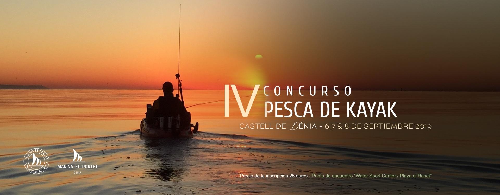Joaquin Molpeceres II concurso de Pesca en Kayak Marina el Portet Denia