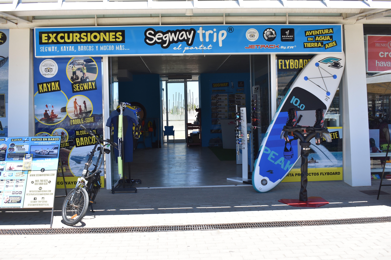 Segway Trip Dénia en Marina El Portet