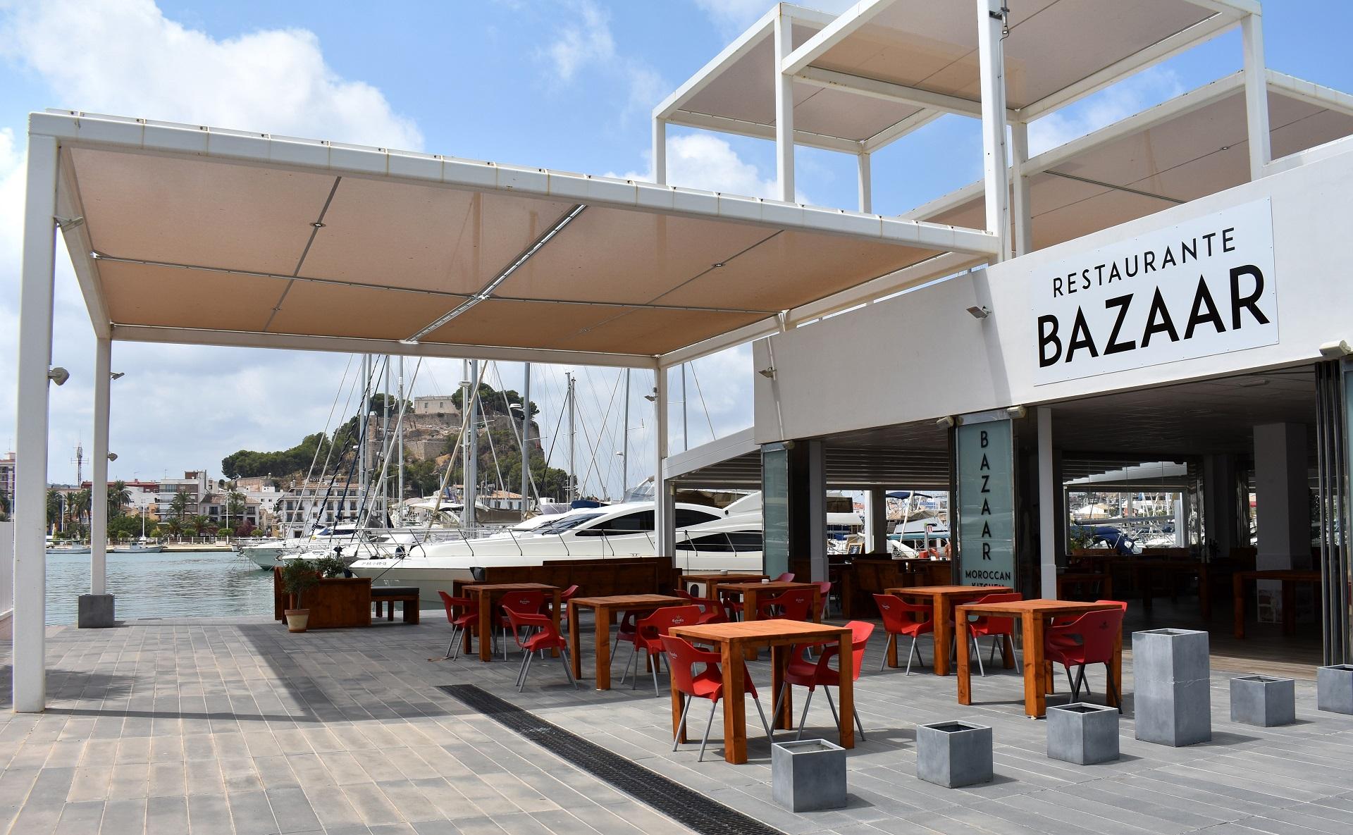 Nuevo Restaurante Bazaar en Marina el Portet