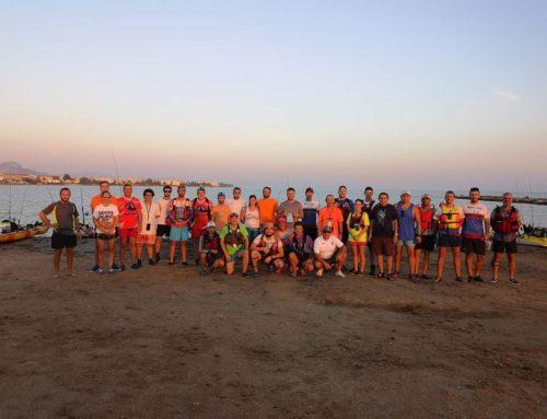 El Concurso de Pesca en Kayak que organiza Marina El Portet se realiza este fin de semana