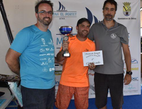 Rubén Sellés gana la cuarta edición del Concurso de Pesca en Kayak de Mar de Marina El Portet