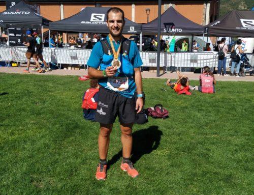 Alvan Salvá recorre los 56 km de la Trail Pirineu