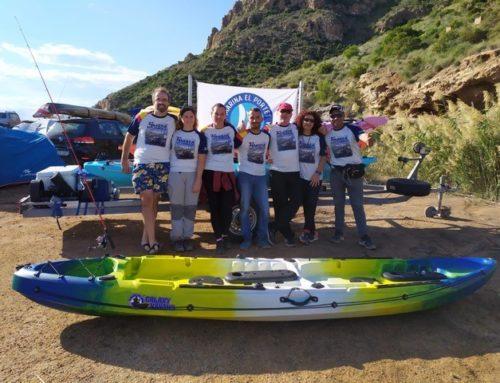 El Club de Pesca en Kayak Marina El Portet en Murcia
