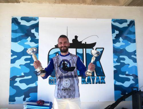 Pachi del Club Pesca en Kayak gana en Valencia