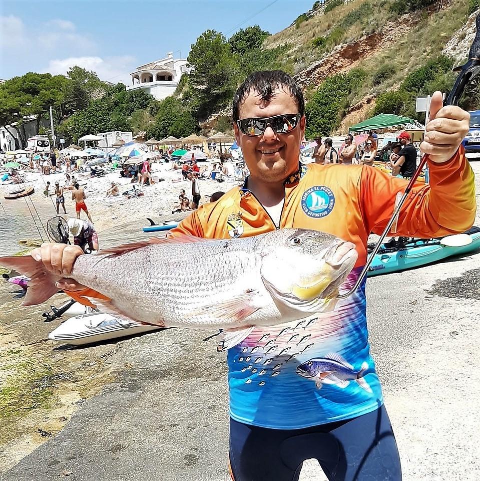 El Club de Pesca en Kayak Marina El Portet de Dénia retoma su actividad
