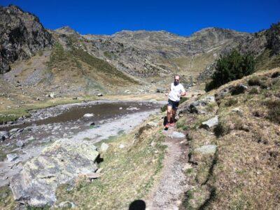 Joaquín Molpeceres Alván Salvá prepara la Carrera Vertical Penya Migjorn