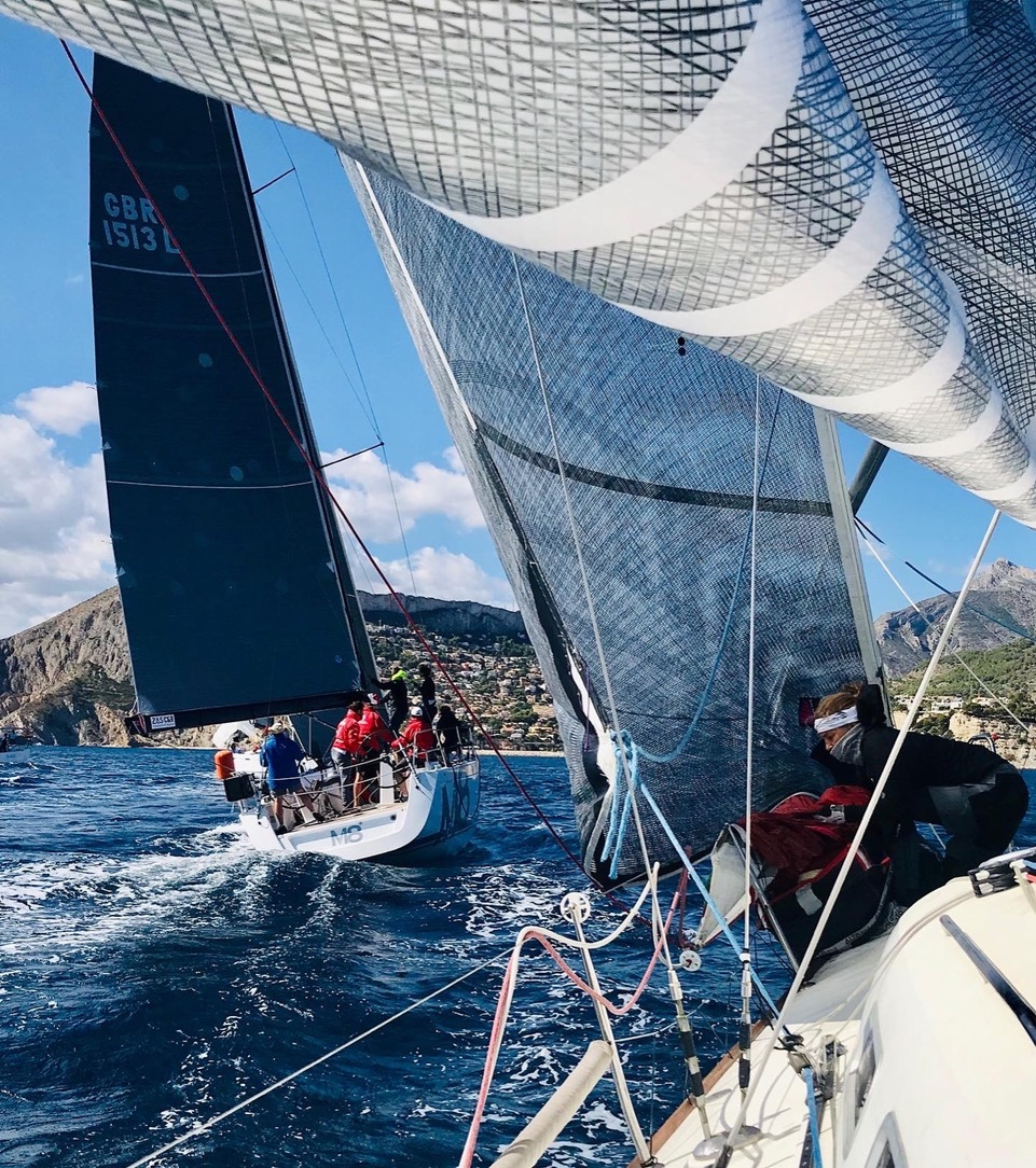El Club de Vela Marina El Portet de Dénia en el Campeonato Autonómico Cruceros 2020 de Calpe