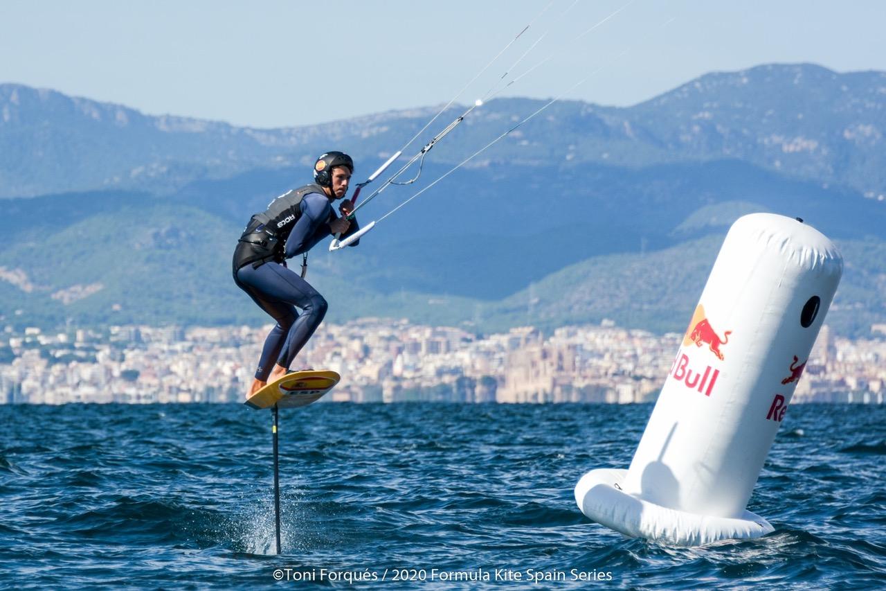 El deportista del CD Marina El Portet Álex Climent es cuarto en Mallorca