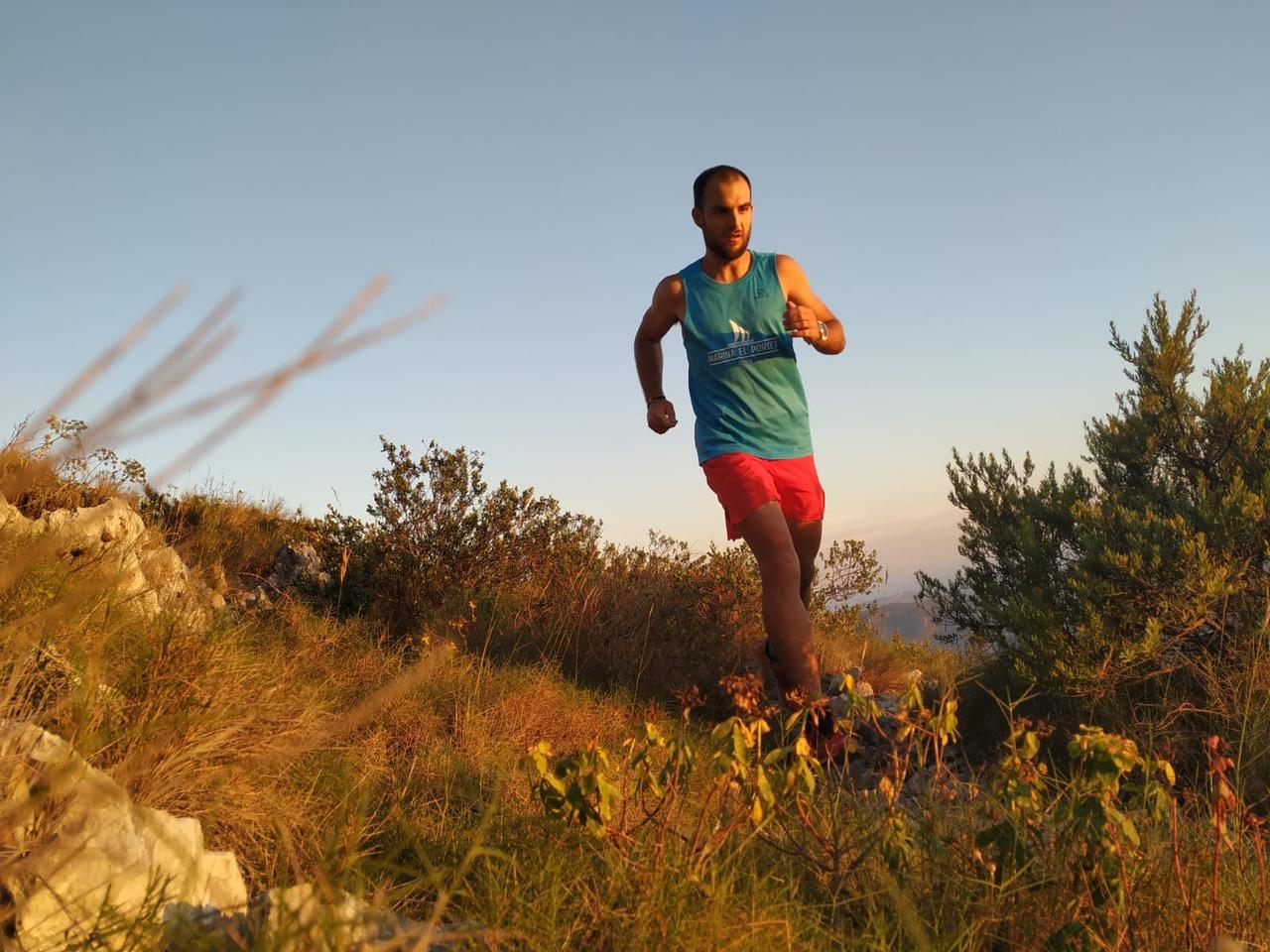 Alván Salvá en la Liga Autonómica de Carreras de Montaña