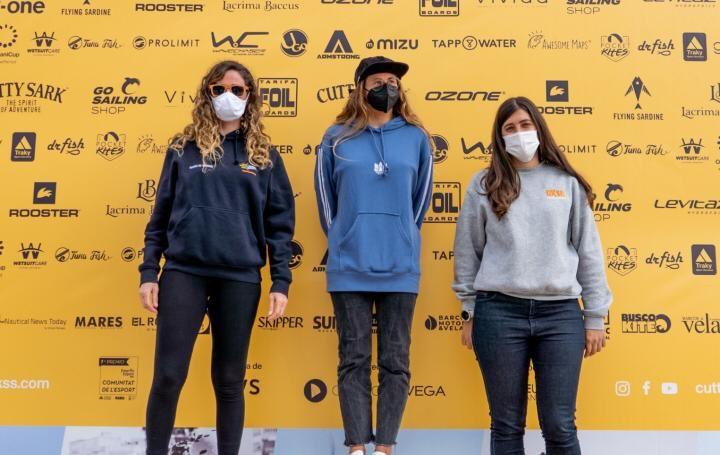 Gisela Pulido y Álex Climent campeones de la copa de España de Fórmula Kite