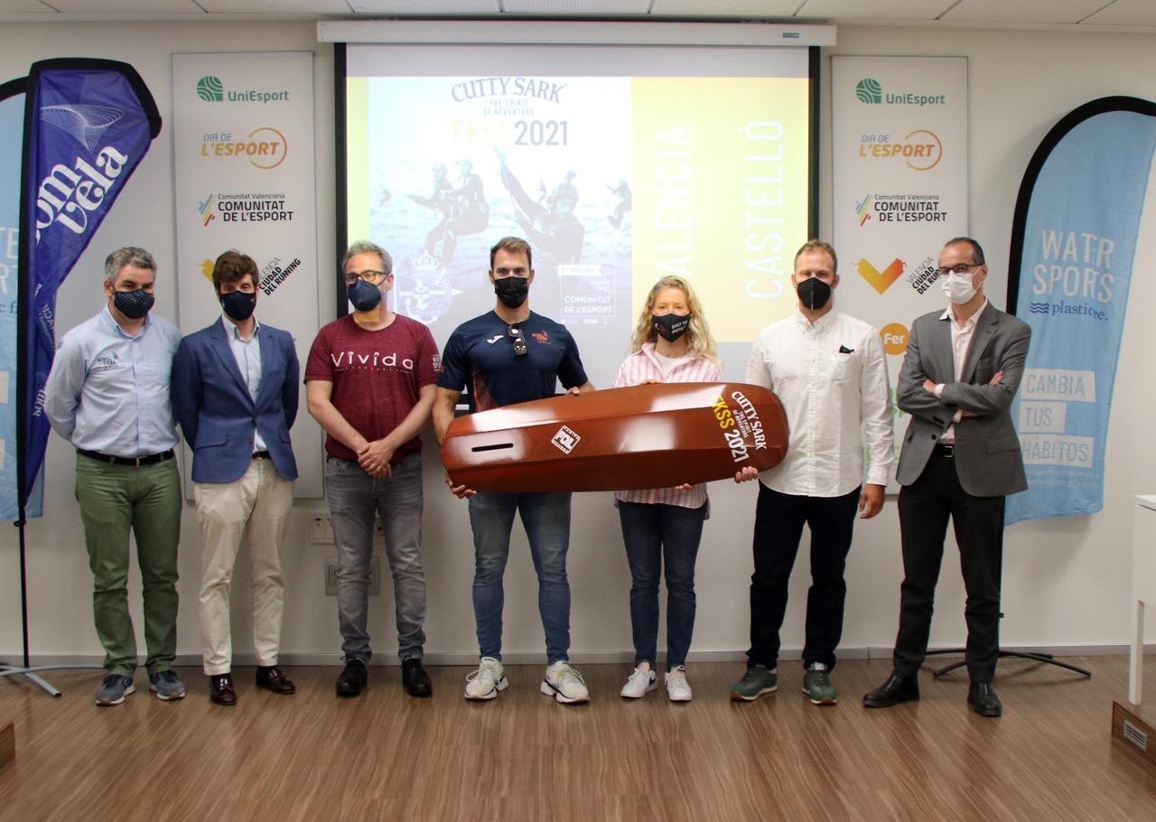 Los kitesurfistas de Marina El Portet de Dénia acudirán a la Cutty Sark Valencia