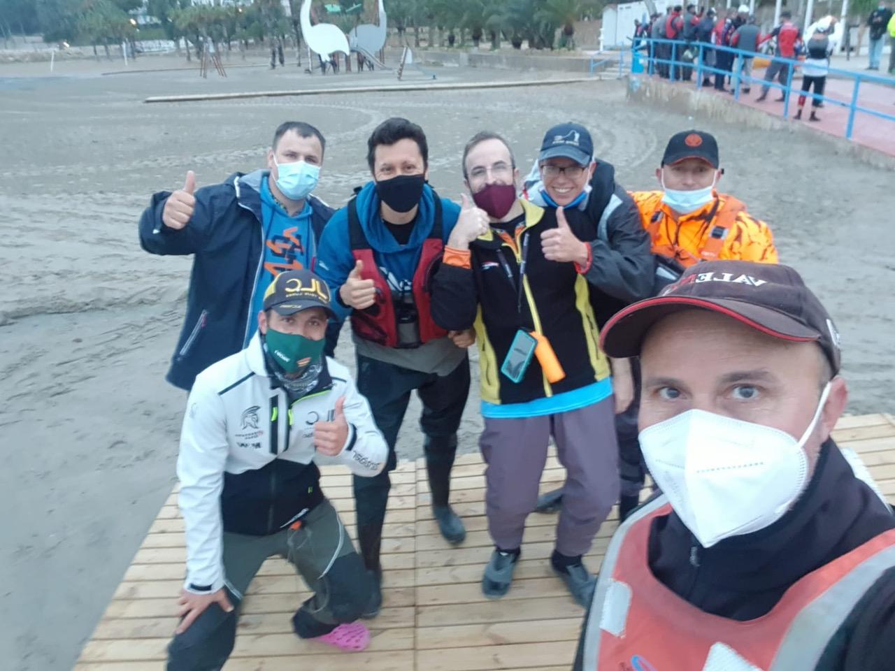 Marina el Portet sede del Campeonato de España Open de Pesa en Kayak de Clubes