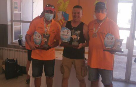 Juan José González, del CD Marina El Portet, se proclama campeón de España de Pesca en Kayak en Valencia